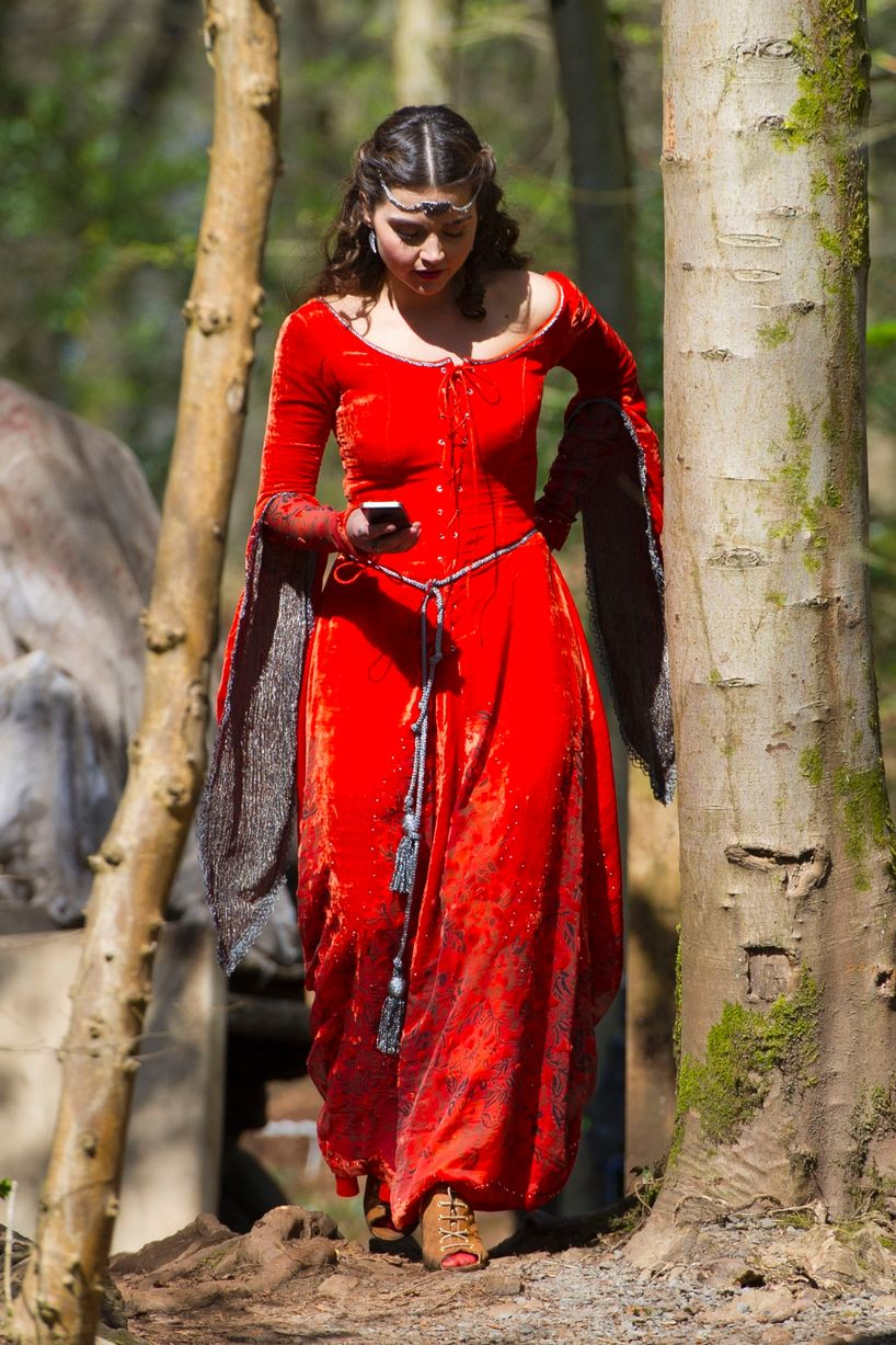 Clara Doctor Who Red Dress
