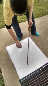 painting arrow